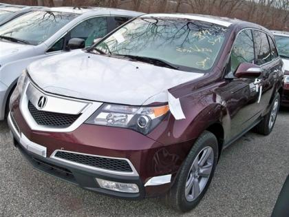 2013 ACURA MDX TECHNOLOGY PACKAGE - RED ON BEIGE 2
