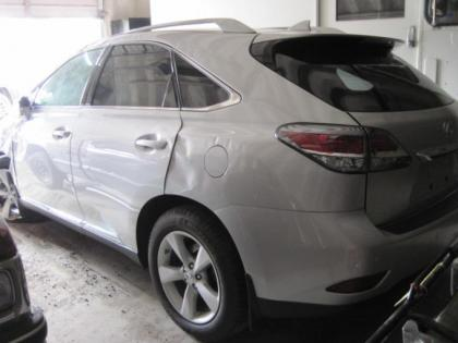 2015 LEXUS RX350 BASE - SILVER ON BLACK 3