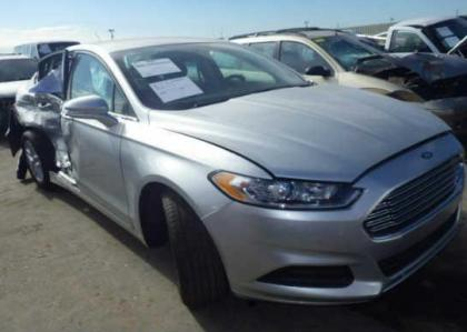 2013 FORD FUSION TITANIUM - SILVER ON BLACK