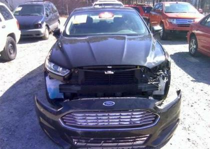 2013 Ford Fusion Key >> Export Salvage 2013 FORD FUSION SE - BLACK ON BLACK