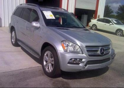 2010 MERCEDES BENZ GL350 BLUETEC 4MATIC - SILVER ON GRAY
