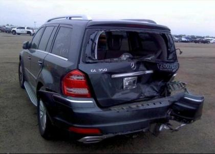 export salvage 2012 mercedes benz gl350 bluetec 4matic blue on gray. Black Bedroom Furniture Sets. Home Design Ideas