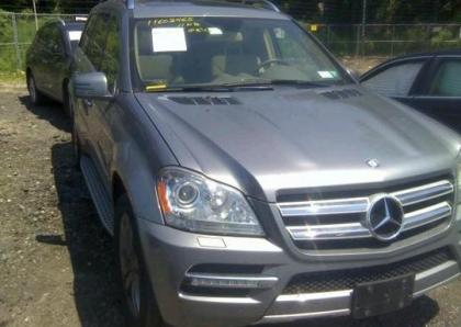 2011 MERCEDES BENZ GL350 BLUETECH - GRAY ON BEIGE