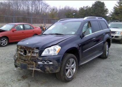 2010 MERCEDES BENZ GL350 BLUETEC - BLUE ON TAN 2