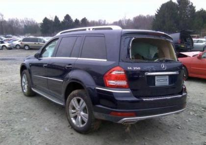 2010 MERCEDES BENZ GL350 BLUETEC - BLUE ON TAN 3