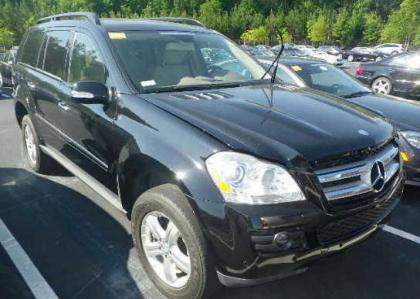 2008 MERCEDES BENZ GL450 4MATIC - BLACK ON BEIGE