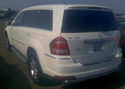 2012 MERCEDES BENZ GL450 4MATIC - WHITE ON BEIGE 3