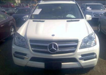 2012 MERCEDES BENZ GL450 4MATIC - WHITE ON BEIGE 6