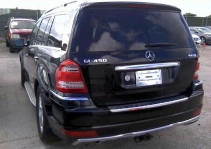Export salvage 2012 mercedes benz gl450 4matic black on for Mercedes benz 2012 gl450