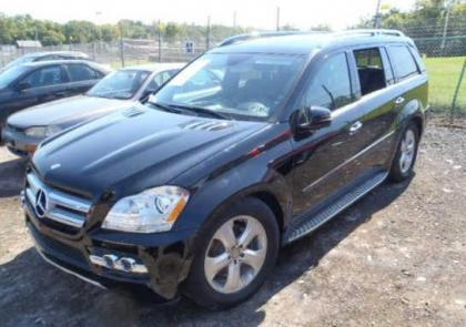 2011 MERCEDES BENZ GL450 4MATIC - BLACK ON BLACK 2