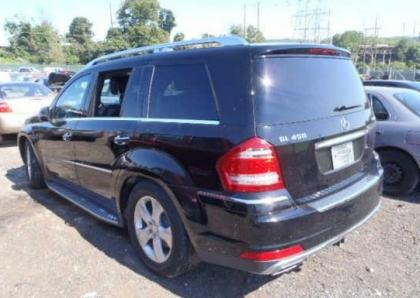 2011 MERCEDES BENZ GL450 4MATIC - BLACK ON BLACK 3