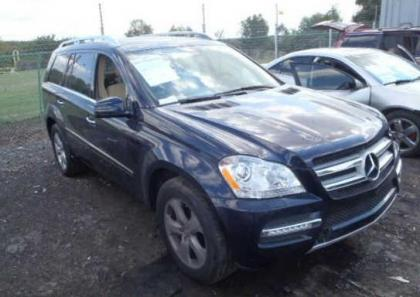 2012 MERCEDES BENZ GL450 4MATIC - BLUE ON BEIGE 1