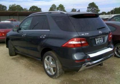 2014 MERCEDES BENZ ML350 4MATIC - GRAY ON BEIGE 3