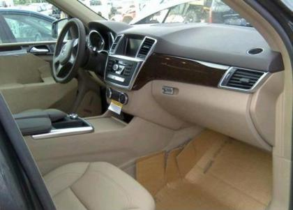 2014 MERCEDES BENZ ML350 4MATIC - GRAY ON BEIGE 5