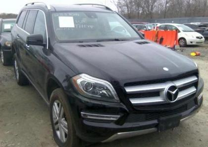 2013 MERCEDES BENZ GL350 4MATIC - BLACK ON BEIGE