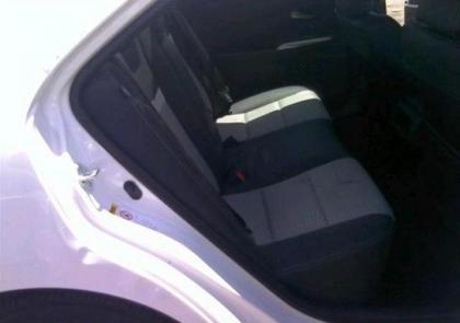 2012 TOYOTA CAMRY XLE - WHITE ON BLACK 8
