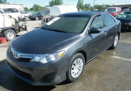 2012 TOYOTA CAMRY SE - GRAY ON GREY 2
