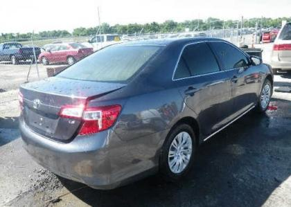 2012 TOYOTA CAMRY SE - GRAY ON GREY 4