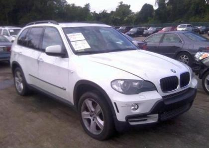 2007 BMW X5 3.0L - WHITE ON BEIGE 1