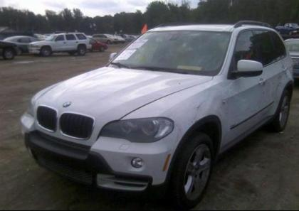 2007 BMW X5 3.0L - WHITE ON BEIGE 2