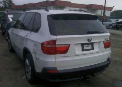 2007 BMW X5 3.0L - WHITE ON BEIGE 3