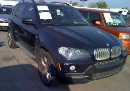 2007 BMW X5 4.8I - BLUE ON BROWN