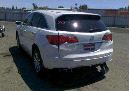 2013 ACURA RDX TECH PACKAGE - WHITE ON GRAY 3