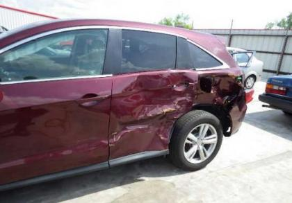 export salvage 2013 acura rdx tech package maroon on beige. Black Bedroom Furniture Sets. Home Design Ideas