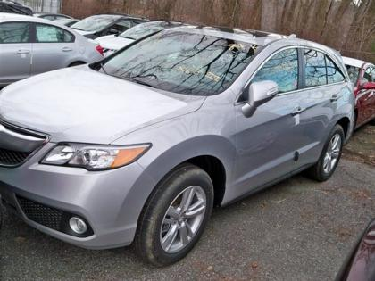 2013 ACURA RDX TECHNOLOGY PACKAGE - SILVER ON BLACK
