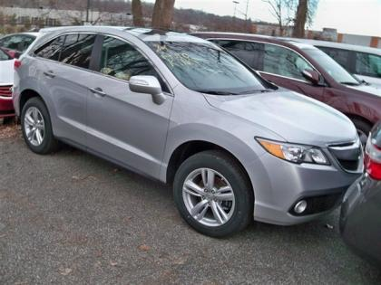 2013 ACURA RDX TECHNOLOGY PACKAGE - SILVER ON BLACK 2