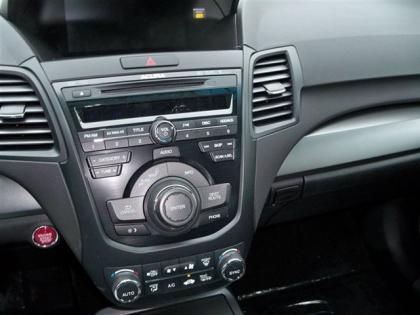 2013 ACURA RDX TECHNOLOGY PACKAGE - SILVER ON BLACK 8