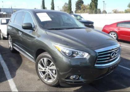 2013 INFINITI JX35 BASE - GREEN ON BROWN 1