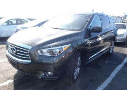 2013 INFINITI JX35 BASE - GREEN ON BROWN 2