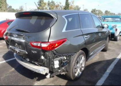 2013 INFINITI JX35 BASE - GREEN ON BROWN 4