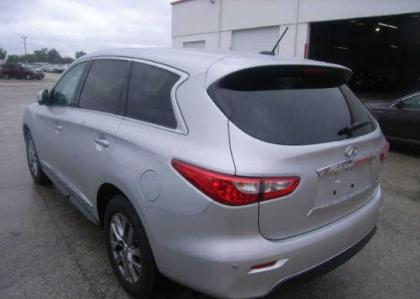 2013 INFINITI JX35 BASE - SILVER ON BLACK 3