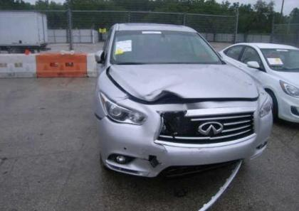 2013 INFINITI JX35 BASE - SILVER ON BLACK 6