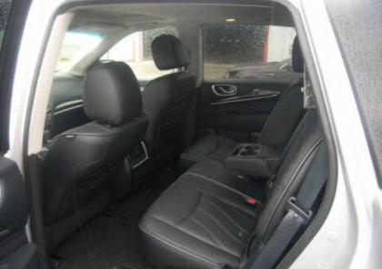 2013 INFINITI JX35 BASE - SILVER ON BLACK 8