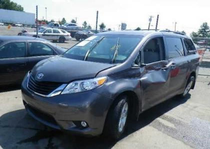 2012 TOYOTA SIENNA LE - GRAY ON GRAY 2