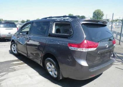 2012 TOYOTA SIENNA LE - GRAY ON GRAY 3