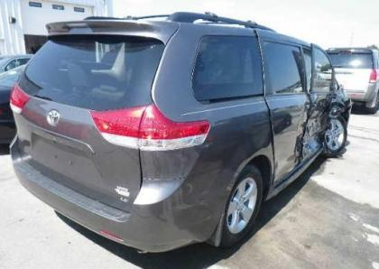 2012 TOYOTA SIENNA LE - GRAY ON GRAY 4