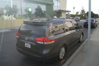 2012 TOYOTA SIENNA LIMITED - GRAY ON GRAY 4