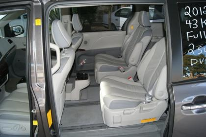 2012 TOYOTA SIENNA LIMITED - GRAY ON GRAY 6