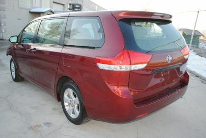 2011 TOYOTA SIENNA LE - RED ON GRAY 3