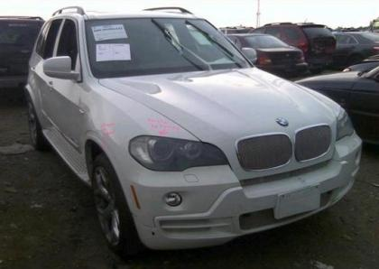 2010 BMW X5 XDRIVE35D - WHITE ON BLACK 1