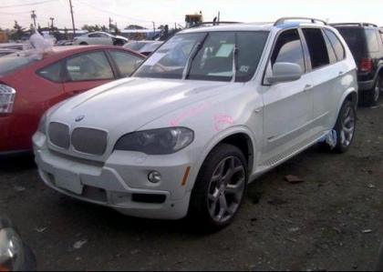 2010 BMW X5 XDRIVE35D - WHITE ON BLACK 2