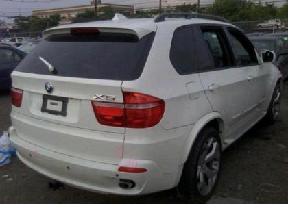 2010 BMW X5 XDRIVE35D - WHITE ON BLACK 4