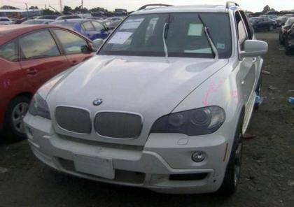 2010 BMW X5 XDRIVE35D - WHITE ON BLACK 6