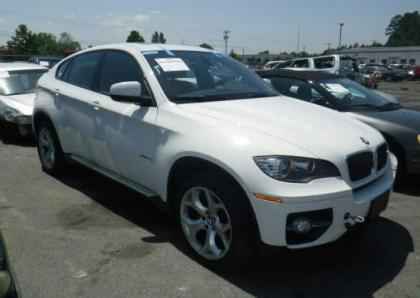 2011 BMW X6 BASE - WHITE ON RED 1