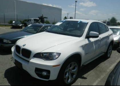 2011 BMW X6 BASE - WHITE ON RED 2