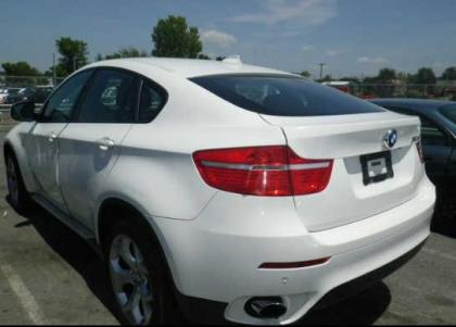2011 BMW X6 BASE - WHITE ON RED 3